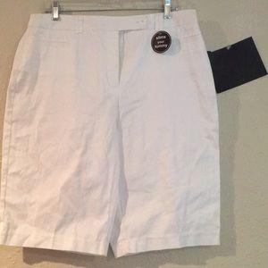 Very nice woman white shorts